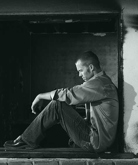 heroin overdose homeless man