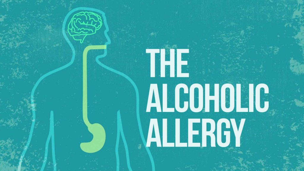 allergic reaction alcohol