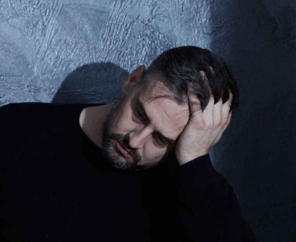 depression man addiction alcoholism