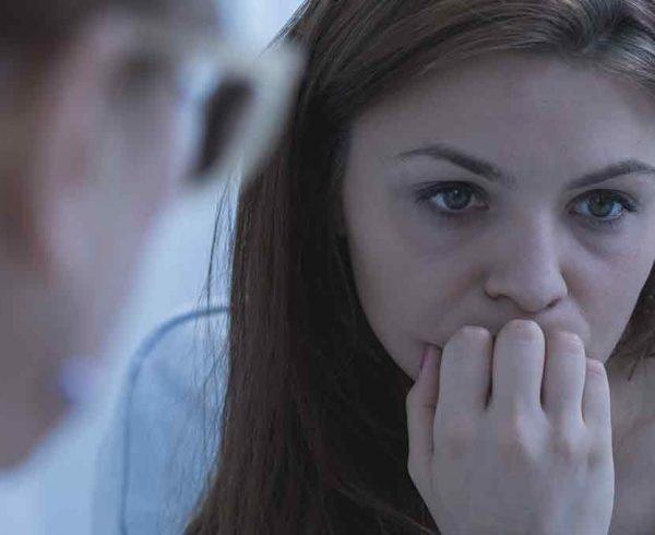 PAWS symptoms woman therapy