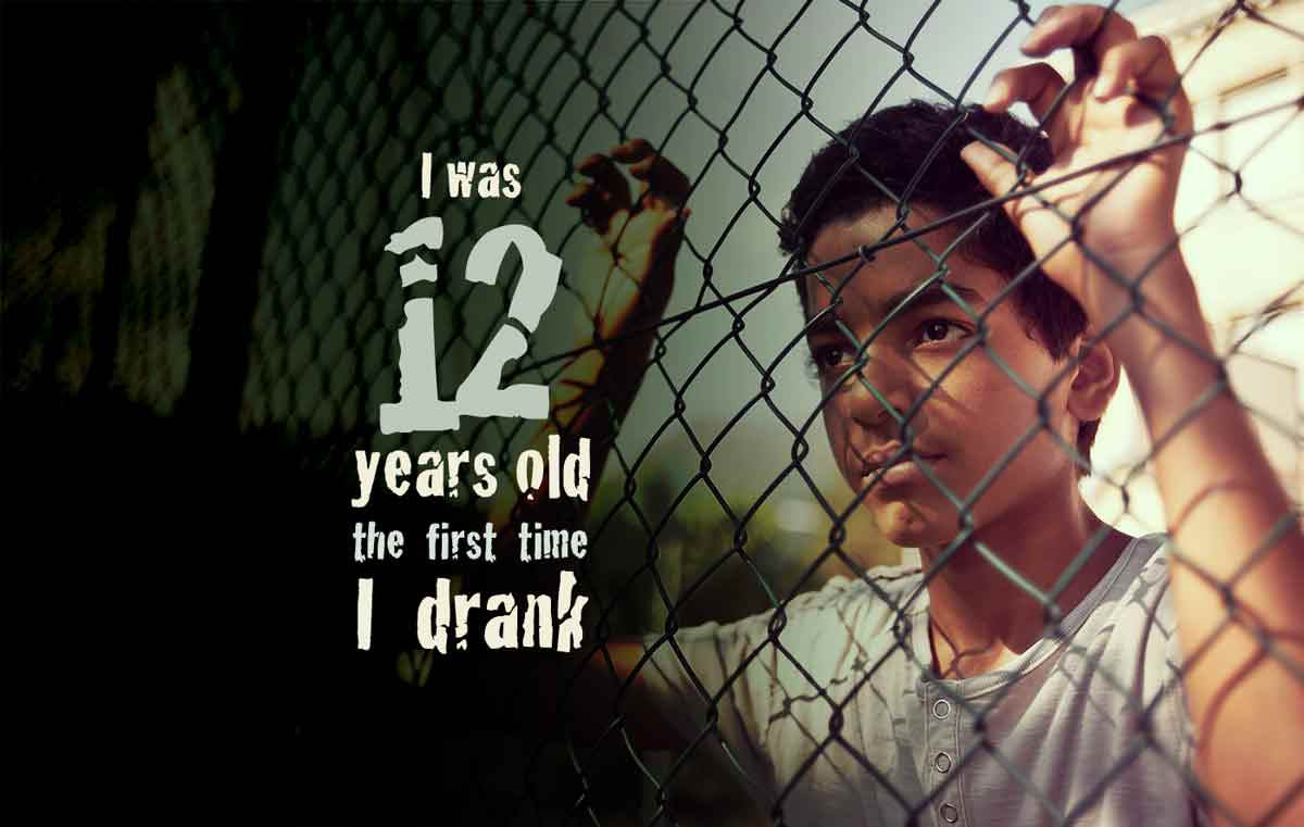 I Was 12 Years Old The First Time I Drank